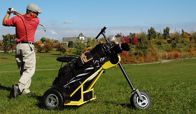 The Turf Chopper Single Rider Golf Cart