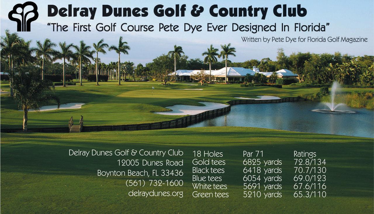 Delray Dunes Golf & Country Club, In Boynton Beach, FL, written by ...