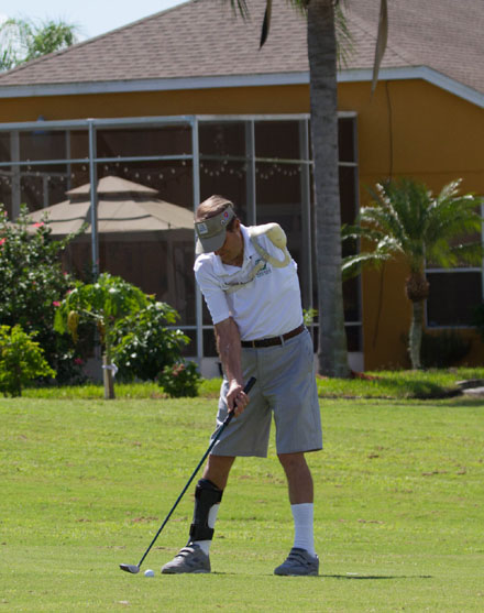 Celebrity Amputee Golf Classic in Lake Wales, Florida