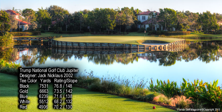 The golf course architecture of jack nicklaus at trump for 115 eagle tree terrace jupiter fl 33477