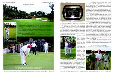 Florida golf magazine for A salon solution port st lucie