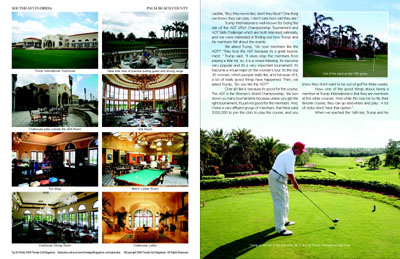 Florida golf magazine for A salon solution port st lucie