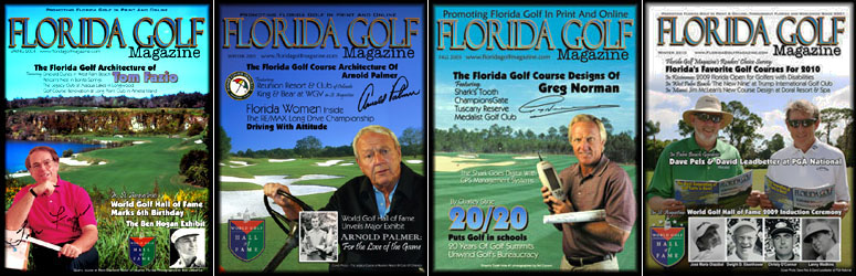 Don't miss an issue of Florida Golf Magazine! Subscribe today, it's Free!
